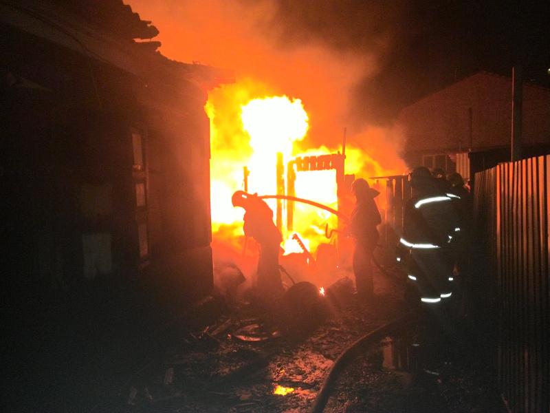 В первый день нового года на пожаре погибли двое омичей
