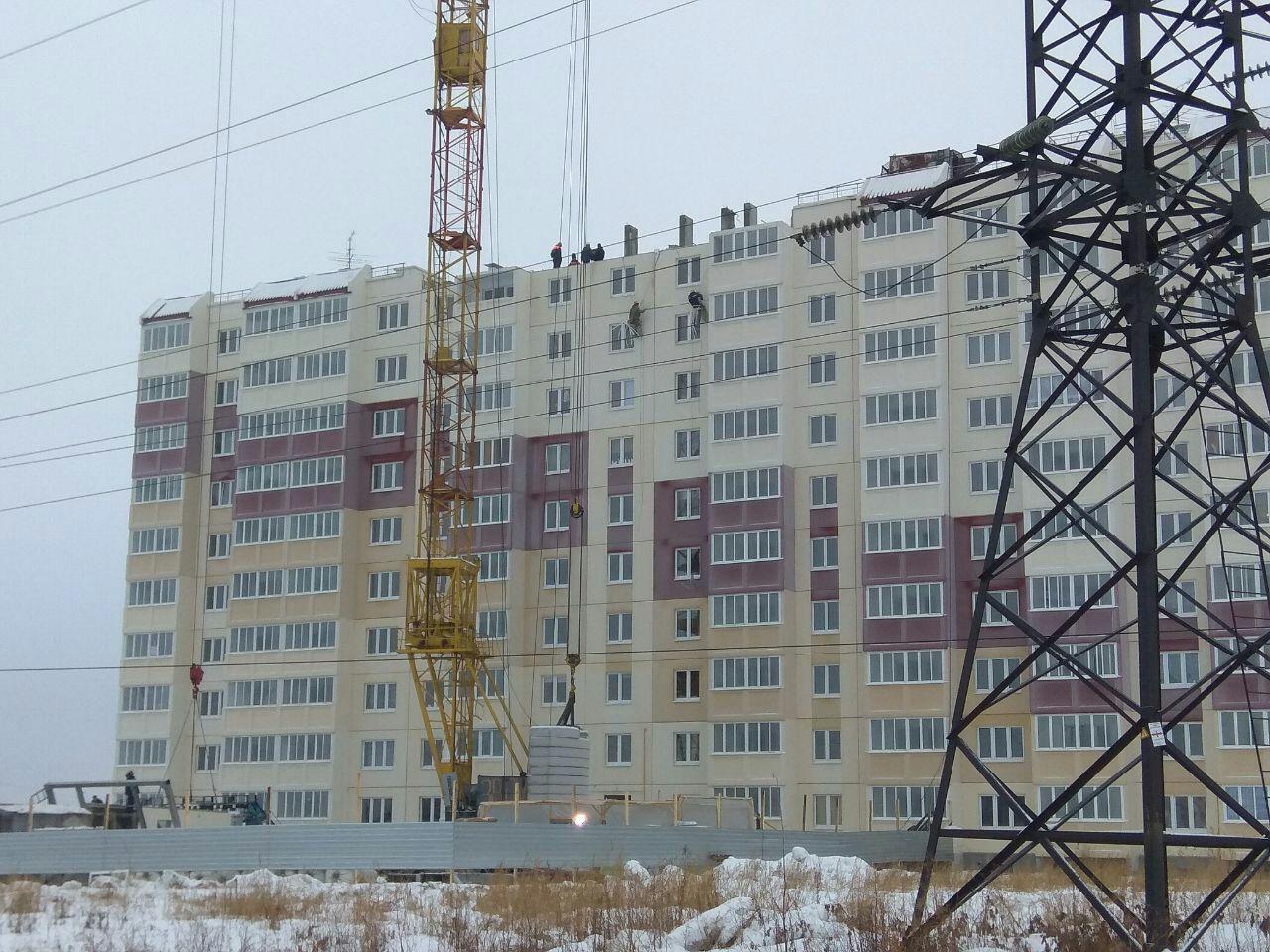 В минувшем 2017г. вОмской области построили 430 тыс. квадратных метров жилья