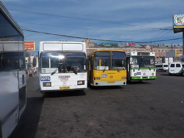 автобусных маршрутов