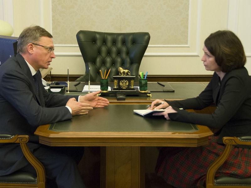 Врио губернатора Бурков направит вбюджет Омска около 800 млн руб.
