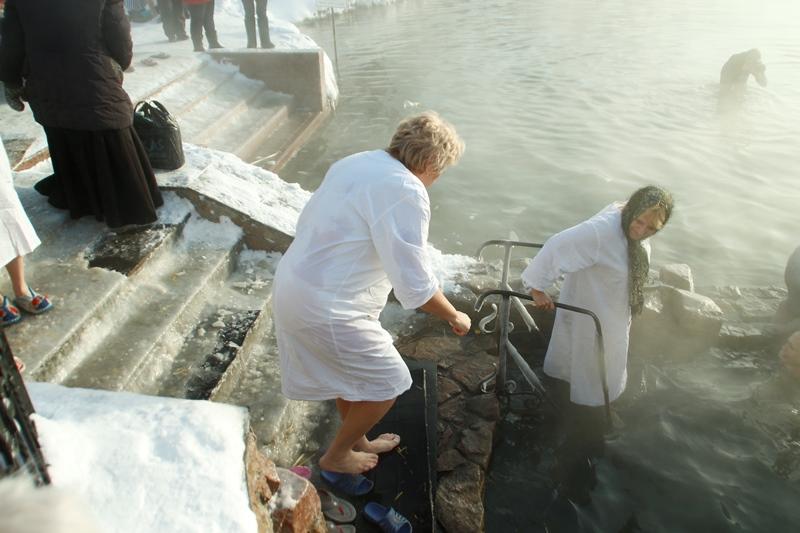 Крещенские купания наСтаврополье прошли без происшествий