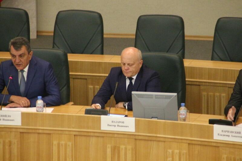 Полпред вСФО представил врио губернатора Буркова руководству Омской области