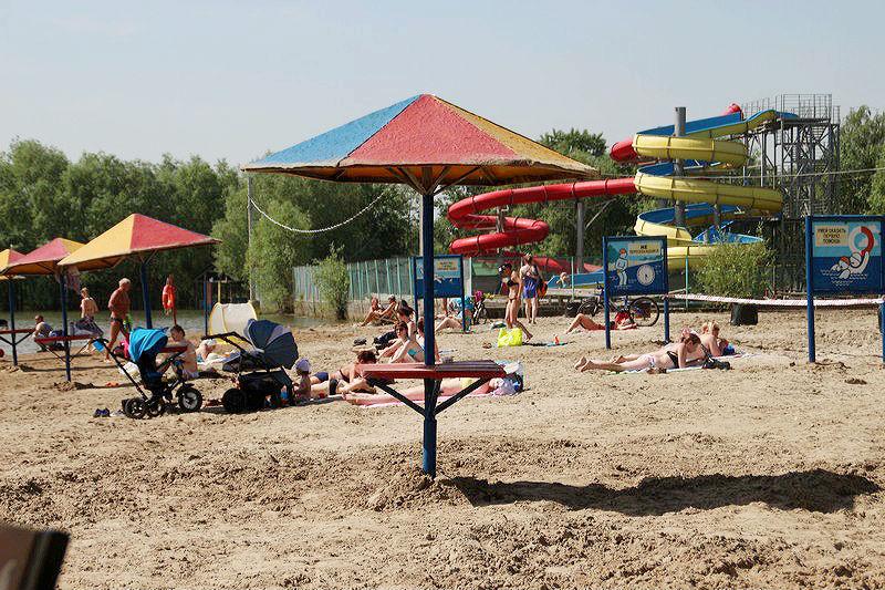 ВОмске официально открыли еще 2 берега