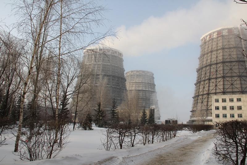 Наомской ТЭЦ-5 вразгар морозов упала температура