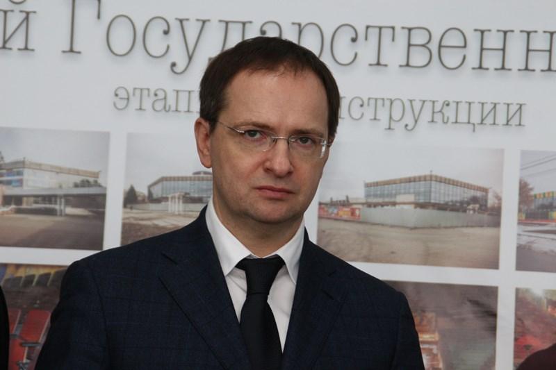 Омск срабочим визитом посетит министр культуры РФ В. Мединский