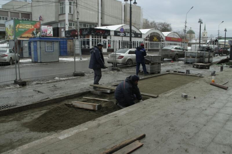 Наасфальтирование проездов итротуаров вОмске выделят 100 млн руб.