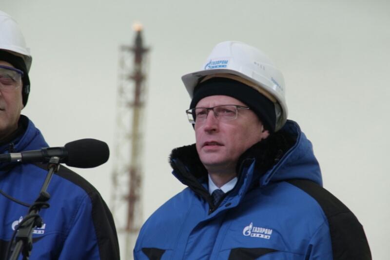 Бурков открыл новые очистные здания наомском нефтезаводе