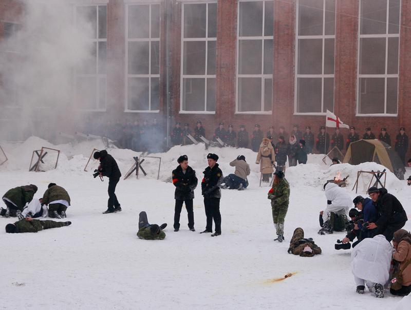 Омские студенты и педагоги реконструировали Битву заСевастополь