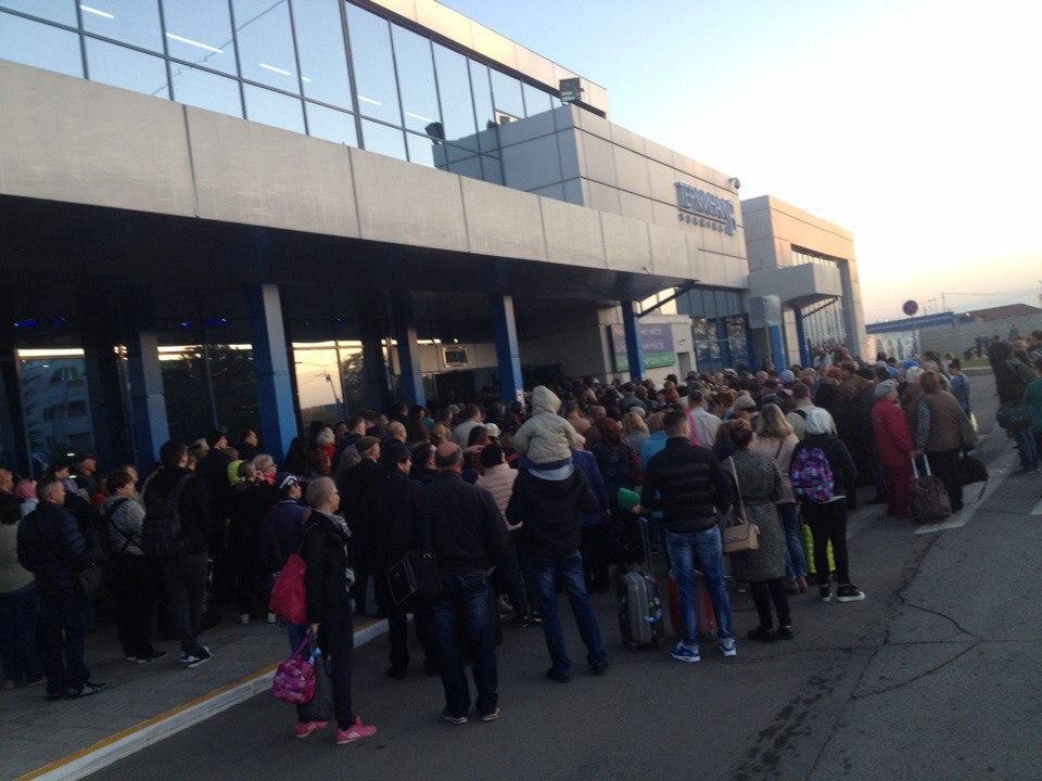 Изомского аэропорта из-за игрушек эвакуировли сотни человек
