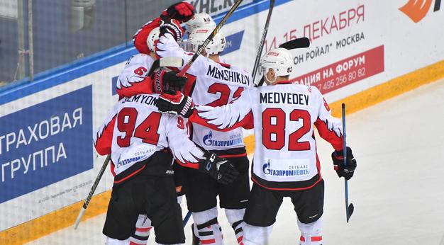 «Авангард» тратит на заработной платы хоккеистов неменее млрд. руб. вгод
