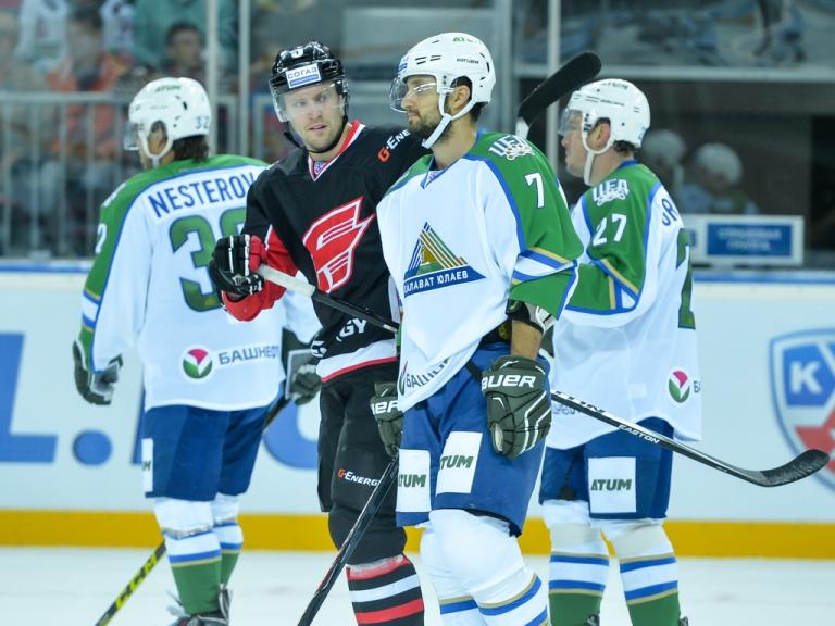 «Салават Юлаев» оставил за бортом плей-офф казанский «Ак Барс»