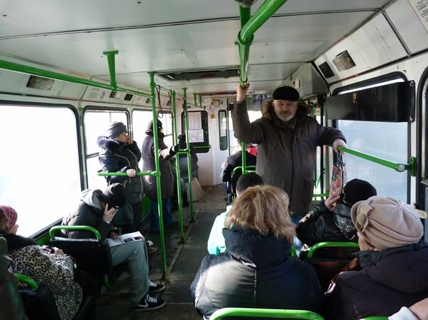 Пассажиров омских автобусов пересчитают за2,5 млн
