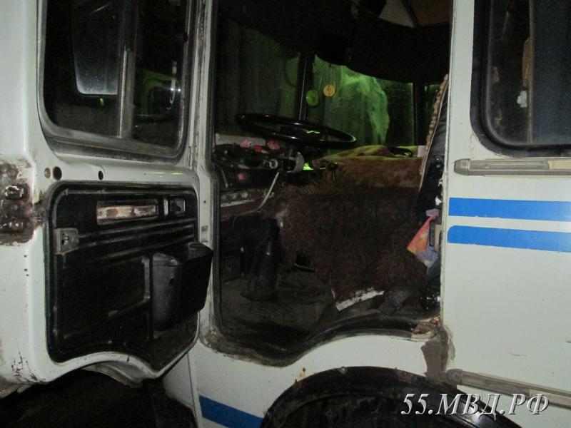 В Омской области из автобуса украли ридер [ФОТО]