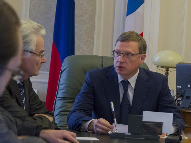 Бурков пытался найти в российской столице деньги на заработной платы омским бюджетникам