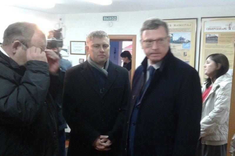 Александр Бурков согласует в столице России бюджет развития Омской области