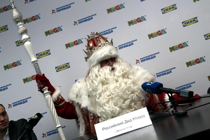 Завтра в Омск приезжает Всероссийский Дед Мороз