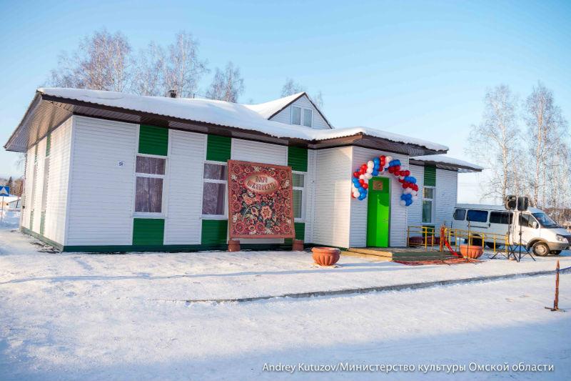 ВОмской области открыли новый Дом культуры