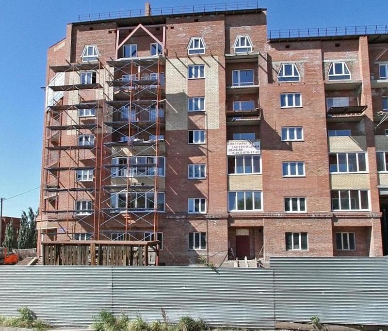 НаКуйбышева вместо расселенных бараков построят девятиэтажный дом смеханизированной парковкой
