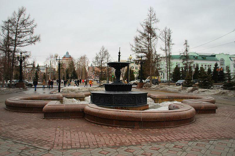 Накануне 9 Мая в Омске заработают четыре фонтана