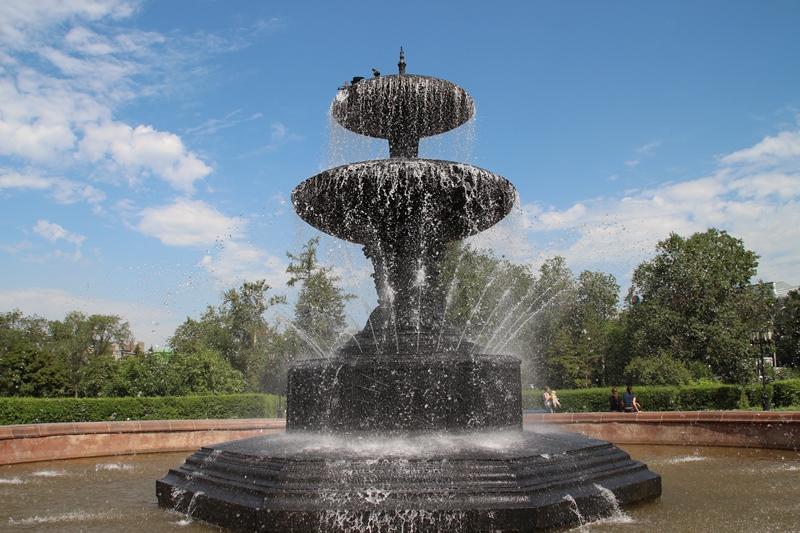 ВОмске основные местные фонтаны, кроме «Изобилия», запустят 9мая