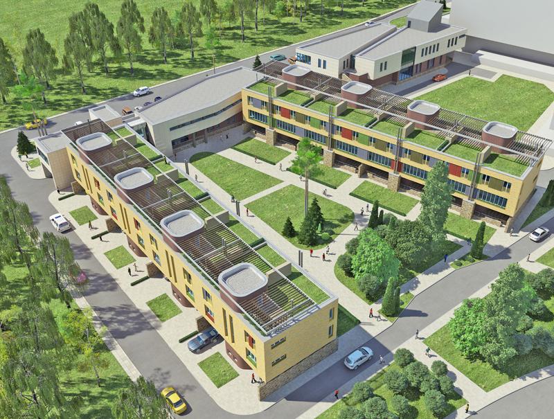 НаЛевобережье Омска началось строительство нового гостиничного комплекса