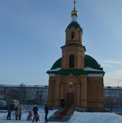 ВОмске построили храм засчет 800 меценатов