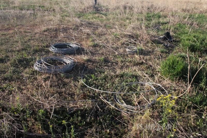 Милиция сидела взасаде, чтобы поймать похитителей кабеля вОмской области