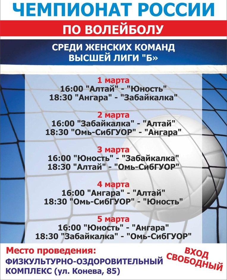 Волейболистки «Оми» сыграют вфинале чемпионата РФ
