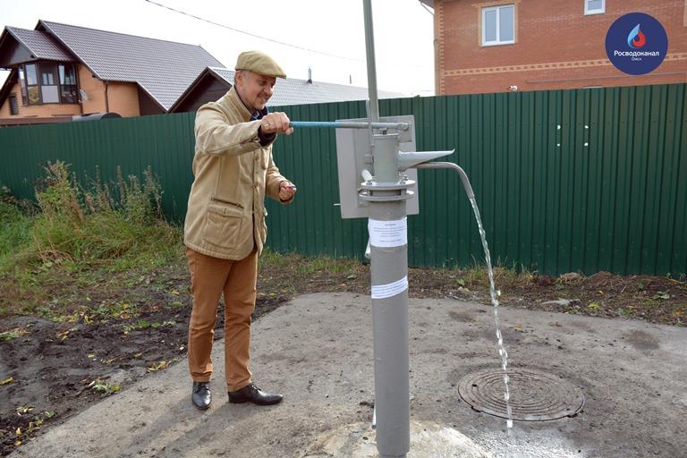 ВОмске изобрели колонку сподачей воды для обеспеченных