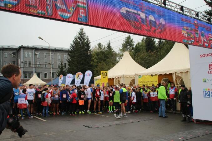 Самый холодный Сибирский международный марафон.Как прошёл SIM-2015?