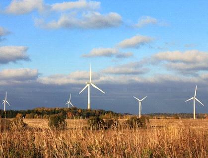 ВОмской области электричество будут вырабатывать ветряные мельницы