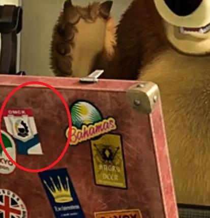 Главный герой мультфильма «Маша и медведь» побывал в Омске #Новости #Общество #Омск