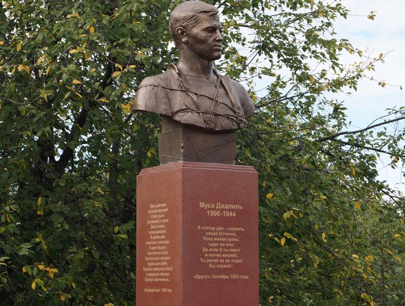 Автор бюста Ермаку откроет вКазани монумент Мусе Джалилю