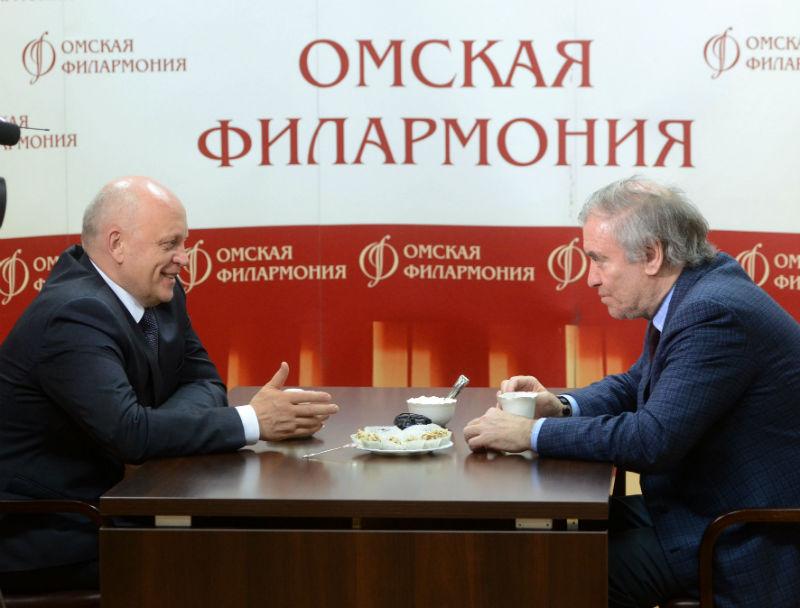 Валерий Гергиев впервые «показал» в Омске Малера
