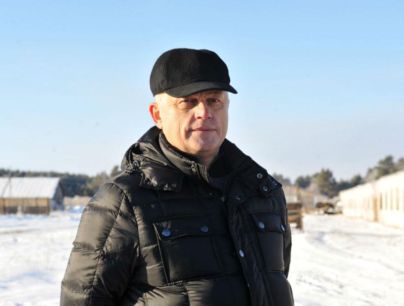 ВОмской области выращивают особых пуховых свиней для хамона