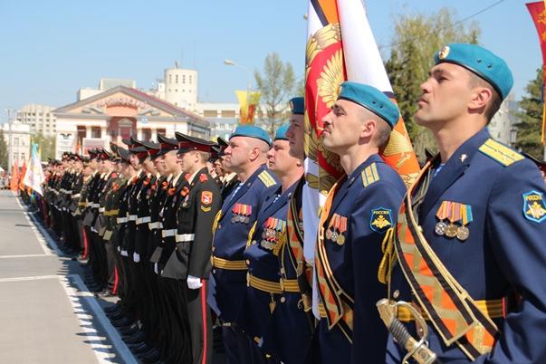 Центр Омска перекроют 5 и 9 мая