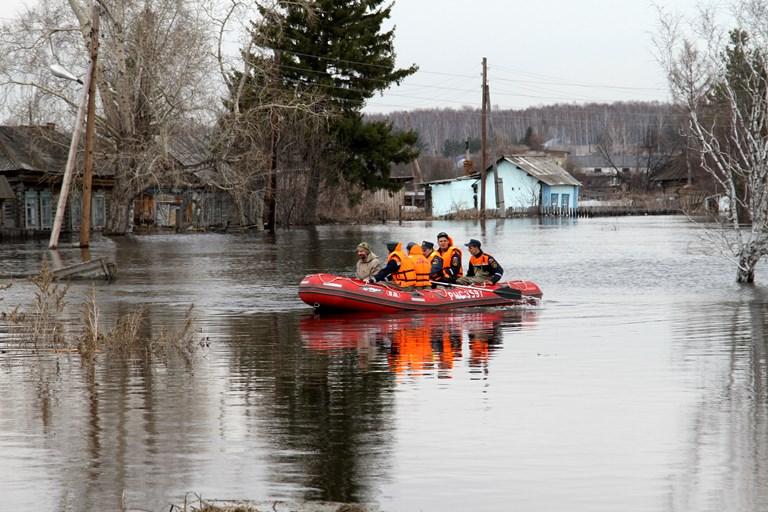 В Омской области до сих пор затоплено 185 домов