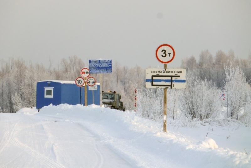 ВЮгре принято вэксплуатацию 72 ледовые переправы
