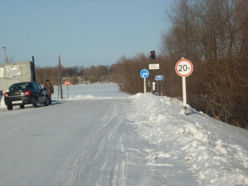 Грузоподъемность на переправах в Омской области увеличилась до 20 тонн
