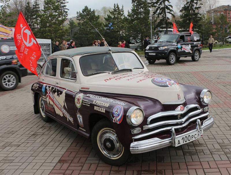 Завтра вОмске стартует автопробег «Дорогами вечного полка»