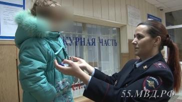 Омич спас девочку, потерявшуюся в 30-градусный мороз [ФОТО]