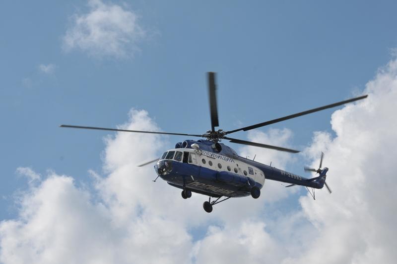 Омич на аэростате помешал полетам вертолета МИ-8 #Омск #Происшествия #Криминал