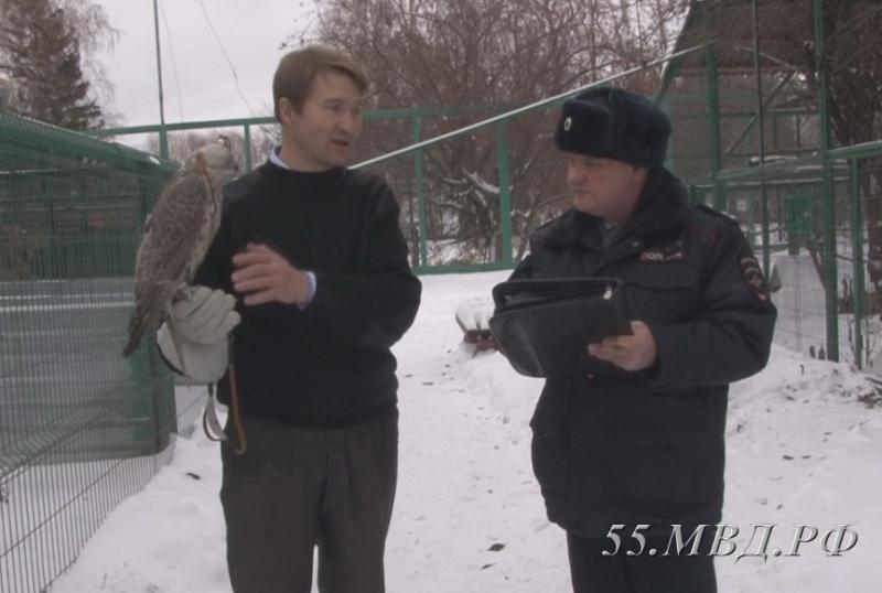 Из Омской области не дали вывезти четырех краснокнижных птиц [ФОТО]