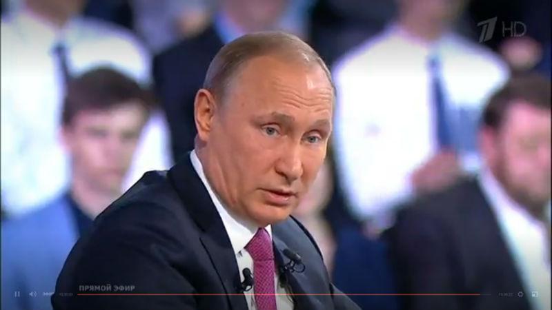 Омский предприниматель Сутягинский, сыгравший сПутиным вхоккей, засветился на«Прямой линии»