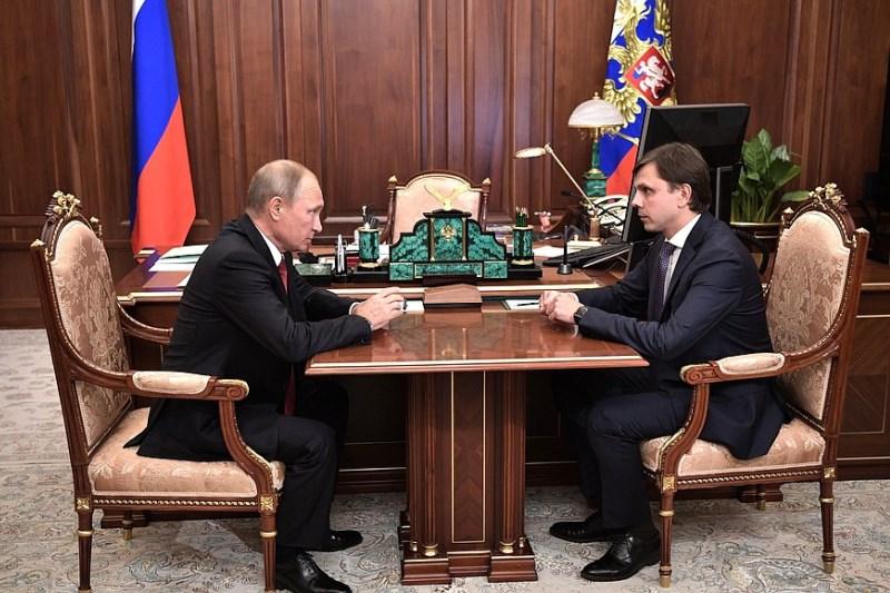 Сергей Собянин поздравил нового и.о.губернатора Орловской области