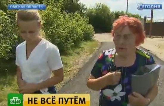«Путинская бабушка» Рапацевич снова угодила нафедеральный канал