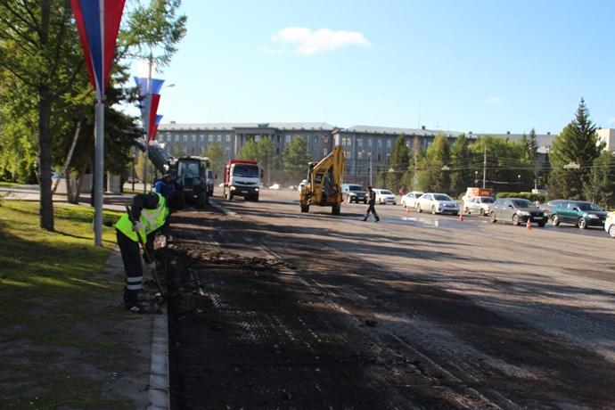 ГИБДД проконтролирует, чтобы ремонт дорог не мешал омским водителям