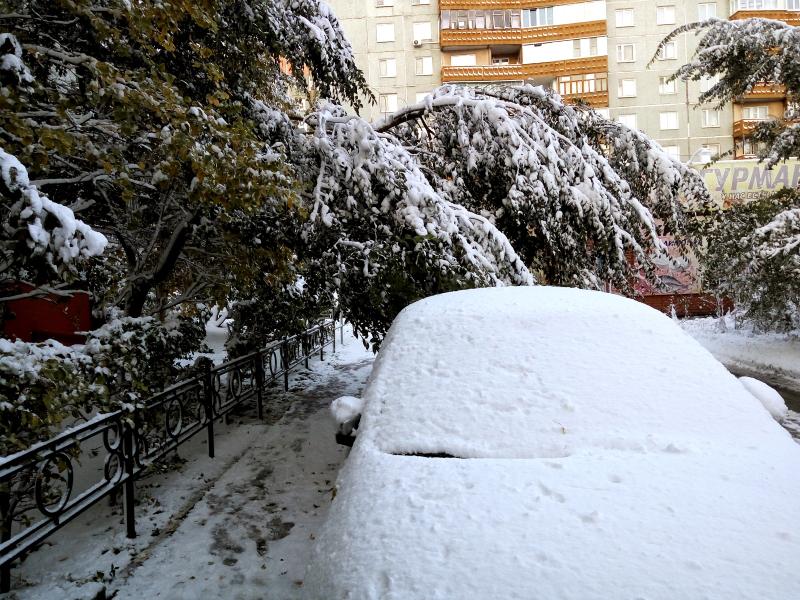 В Омской области снова объявили штормовое предупреждение