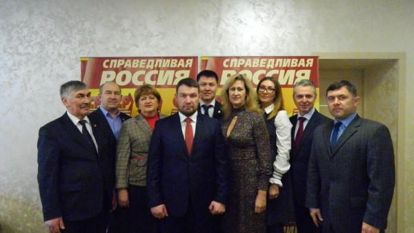 Владимир Гуселетов официально возглавил «Справедливую Россию» вОмске