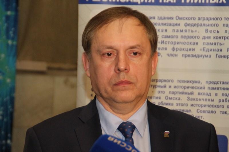 Новый лидер омских «единороссов» работал на радио